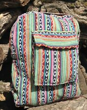INDIE BOHO HIPPY BACKPACK BAG HIPPIE BEACH HANDBAG SHOULDER FESTIVAL RUCKSACK