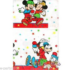 MICKEY MOUSE ROLLER PARTY PAPER TABLE COVER ~ Birthday Party Supplies Vintage