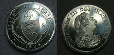 1808 Jersey Large Aluminum Fantasy 5 Shillings George III