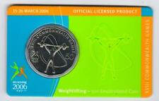 2006 RAM 50 cent UNC Coin - Melbourne Commonwealth Games - Weightlifting