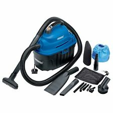 Draper 06489 CAR CARE 10l 1000w 1kw 230v Wet and Dry Aspirapolvere Nuovo