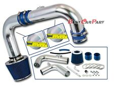 BCP BLUE 11-15 Chevrolet Cruze 1.4L Turbo Cold Air Induction Intake Kit +Filter