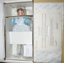 """Danbury Mint The Story Book Doll Collection """"Alice in Wonderland"""" 11"""" Doll w/COA"""