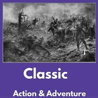 ACTION & ADVENTURE e-Book Collection Kindle eReader Nook Kobo + FREE BONUS ~ dvd
