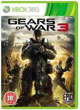 Xbox 360-gears of war 3 (gow) ** nouveau & sealed ** en stock au royaume-uni