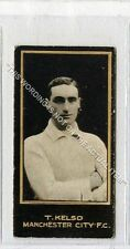 (Ga7285-447) Smith, Footballers, #36 T.Kelso, Manchester City 1912 VG