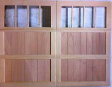9x7 Wood Overhead Carriage House Garage Door AmanaDoors Model 103W8