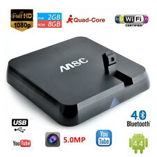 M8C Quad Core  for Android TV Box Kodi Fully Media Player WiFi bluetooth Camera