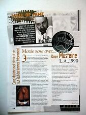 COUPURE DE PRESSE-CLIPPING :  DAVE MUSTAINE  04/2007 Los Angeles 1990