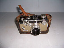 VINTAGE ARGUS 35MM RANGEFINDER CAMERA 50MM LENSE WITH LEATHER STRAP