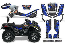 CAN-AM OUTLANDER MAX 500 650 800R GRAPHICS KIT CREATORX DECALS STICKERS DZBL