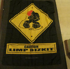 LIMP BIZKIT TEXILE POSTER FLAG RARE NEW resealed packaging
