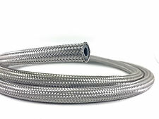 "Braided Fuel Oil Water Hose Stainless Steel 3/8"", 10mm ID (1M)"
