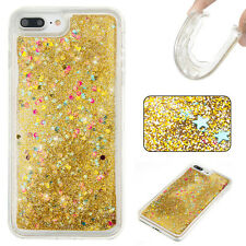 Shockproof Bling Dynamic Liquid Glitter Quicksand Soft TPU Cover Case For Phone