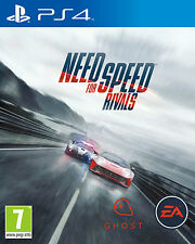 NEED FOR SPEED NFS RIVALS PS4 Game (PRE OWNED) (USED) Excellent Condition