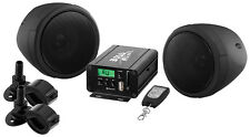 Boss Audio MCBK520B Motorcycle/UTV Speaker And Amplifier System USB/SD/FM