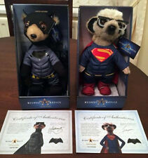 BNIB Limited Edition Superman & Batman Meerkat / Meercat Toy Compare the Market