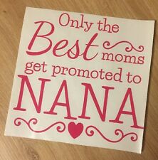 Only The Best Moms Decal vinyl sticker fits Ikea Box Ribba Frame Mother's Day ��