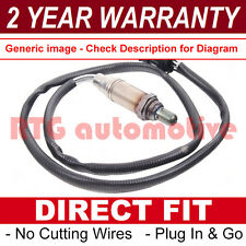 FOR FORD PUMA 1.7 16V REAR 4 WIRE DIRECT LAMBDA OXYGEN EXHAUST SENSOR PLUG IN