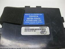 2007 Toyota Camry Remote Start Engine ECU Service Part 08190-42830 OEM