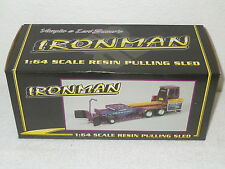 Bauer Built Ironman Purple Pulling Sled   1/64th Scale