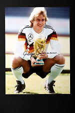 JURGEN KLINSMANN GERMANY TOTTENHAM HAND SIGNED PHOTO AUTHENTIC GENUINE COA 16x12