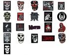 Misfits Sew/iron On Patch/Patches NEW OFFICIAL. Choice of 21 designs