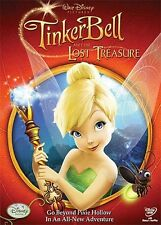 Tinker Bell and the Lost Treasure (2009, DVD NIEUW) WS