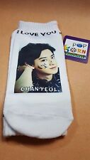 EXO ChanYeol  KPOP PHOTO Unisex Cotton Low Ankle Socks Kpop Gift Sealed New
