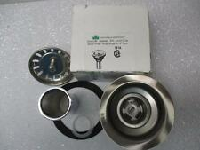 """NEW McGuire 151A Heavy Duty SS Basket Strainer Stops w/ 4"""" Tailpieces"""