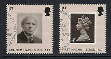 GB used stamps - 2007 40th Anniversary Machin Definitives, SG2741/2742, used