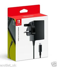 Nintendo Switch AC Power Adapter Charger UK Plug USB-C NEW OFFICIAL PRODUCT