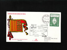 Sovereign Military Order Of Malta 1970 Apollo 13 Handstamp Cover Aventino ¬