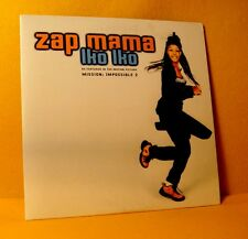 Cardsleeve single CD Zap Mama Iko Iko 3 TR 2000 Pop Jazz Afrobeat RARE !