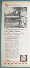Original 1958 Purina Feed Ad Photo Endorsed by Andy Thomas of Fairfax SC