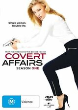 COVERT AFFAIRS - SEASON ONE -  Piper Perabo - 3 discs DVD  NEW & SEALED
