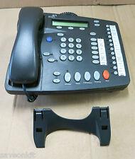 3com Nbx 2102 3c10226pe teléfono empresarial Gris Oscuro Con Auricular Y Soporte
