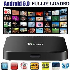 Android 6.0 Amlogic S905x Smart TV Box TX3 PRO Fully Loaded 4K Media Player C1J8