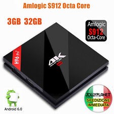 H96 PRO PLUS OCTA CORE 2GHz BOX ANDROID 6.0 32GB 3GB S912 WIFI IPTV 4K KODI
