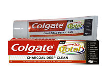 5 x Colgate Charcoal - Deep Clean Toothpaste 140 gm Total 12 Hour Protection