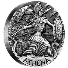 2015 $2 Goddesses of Olympus Athena 2oz Silver High Relief Coin