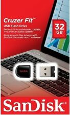 SanDisk 32GB USB SD CZ33 Cruzer Fit 32G USB 2.0 Flash Drive SDCZ33-032G