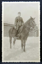 Foto Milovice soldato a cavallo WK 2 ww2 PHOTO CCCP Horse Soldier (i-422