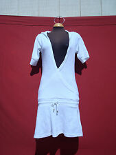 New Atmosphere Beach White Women's Summer Hodeed Dress Swimsuit Coverup 8 Madrid