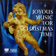 Readers Digest - Joyous Music For Christmas Time -  Record w/CD Transfer