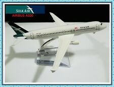 AIRBUS A320 SILK AIR AIRLINE AEROPLANE METAL PLANE MODEL MODELS GIFT TOY TOYS UK