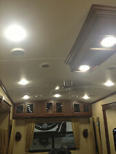 "5 NEW 4.5"" LED 480 LUMEN RECESSED INTERIOR CEILING LIGHTS FOR RVs AUTO BOATS 12V"