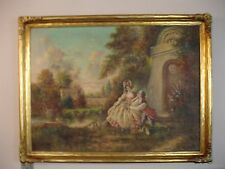 20th century oil on board signed Wallace C McBeth