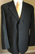 Joseph Feiss Blazer 39S Wool Navy Blue 3 Buttons Sports Jacket Coat Mens