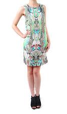 Ana Alcazar Damen Tunika -Kleid-Sommer Graphischer Druck mehrfarbig Größe 34